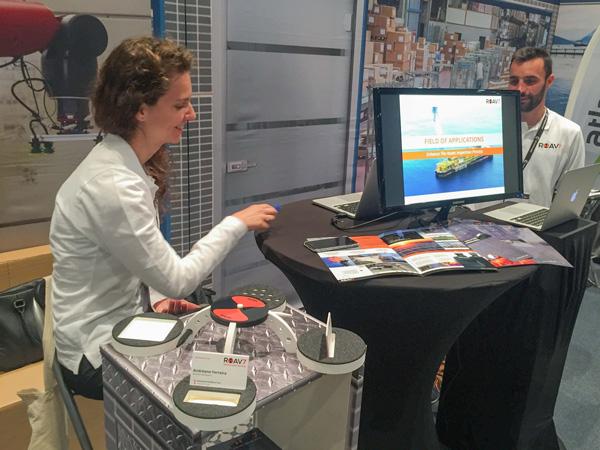 ROAV7 participe au salon de l'innovation IN Normandy