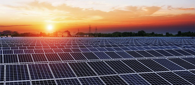 inspection de ferme solaire par drone