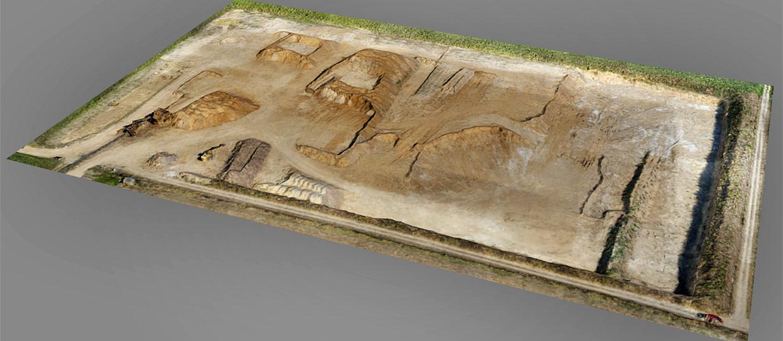 topographie mine et carrière par drone
