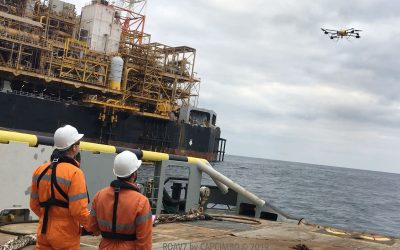 ROAV7 BY CAPCIMBO PERFORMES 6 FLARE INSPECTIONS ON 4 FPSOS IN ANGOLA