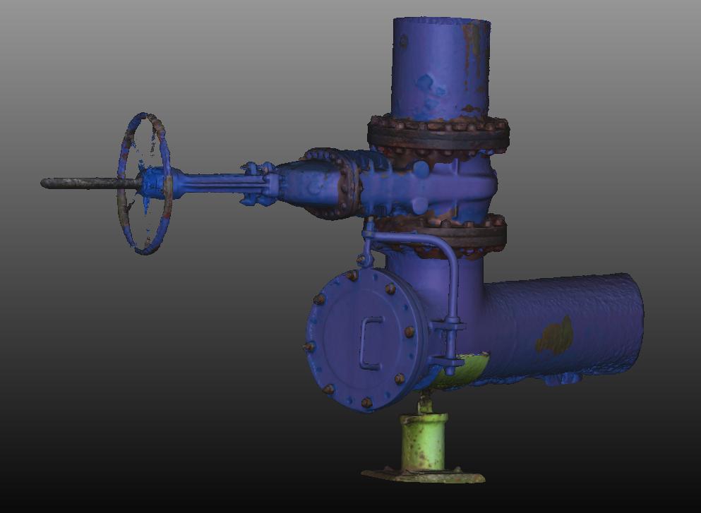 Modèle 3D vanne