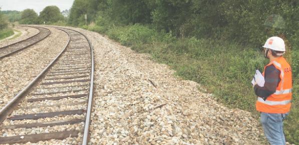 Opération acquisition prises de vues voies ferrées et rails