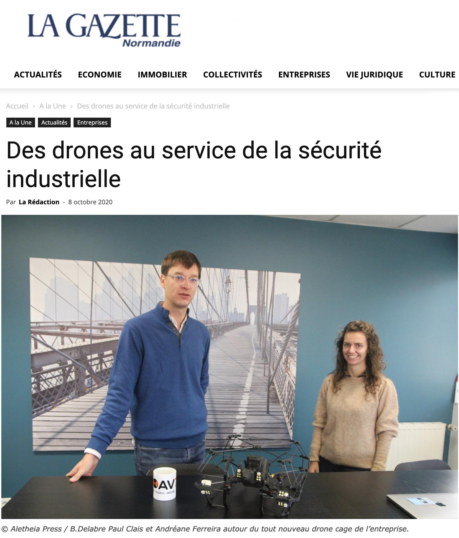 la gazette normandie ROAV7 Presse